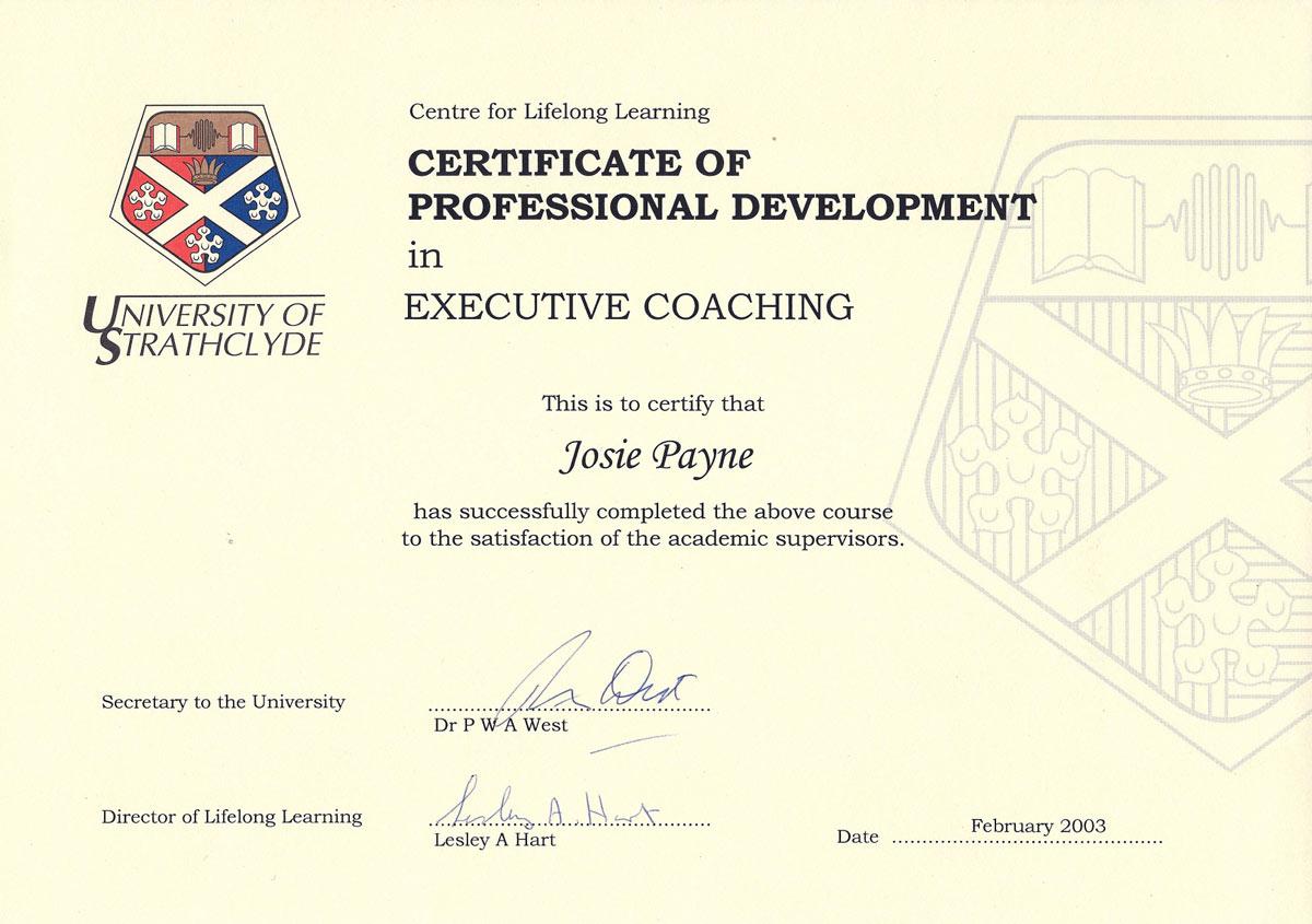 executive coaching certificate leadership mbti step
