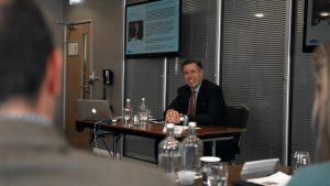 Guest speaker, Graham Brady, gave a speech on the subject of Europe